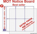 MOT Notice Board