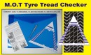 Tyre tread checker