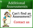 Can't find an assessment - Contact us
