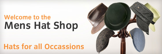 Mens Hats - Homepage Banner