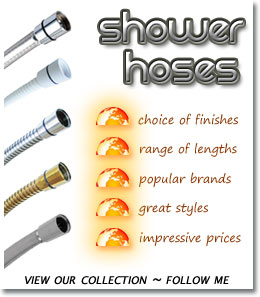 Featured Product - Shower Hoses, Huge range by style, brand,length &amp; price