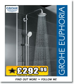 Featured Product - Grohe Euphoria Shower