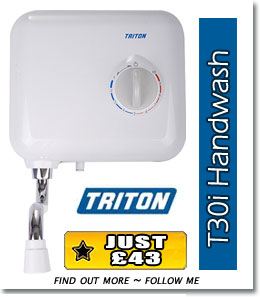 Featured Product - Triton T30i 3.0kW Handwash