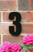 See our stunning black house numbers
