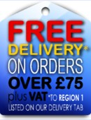 Free Delivery Orders over £75 Plus VAT