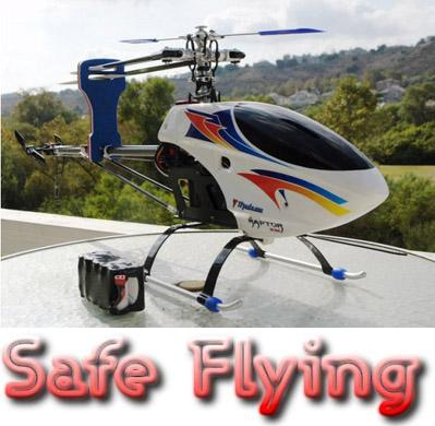 flying rc helicopters safely