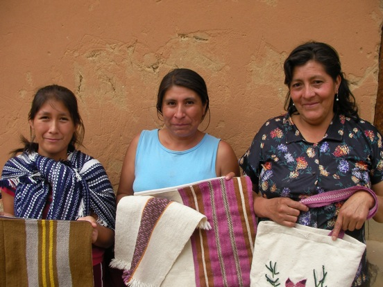 One of Llamaramas fair trade partnerships