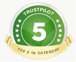 Trustpilot - click to read reviews or rate our service