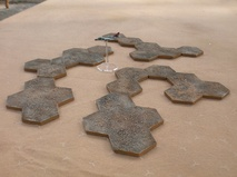 "Hill / Island Pack 1.5""/38mm hexes"